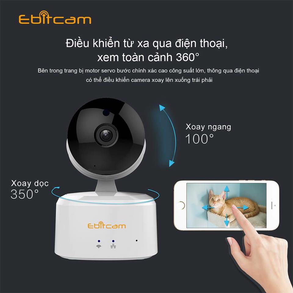Camera IP Wifi Ebitcam 1